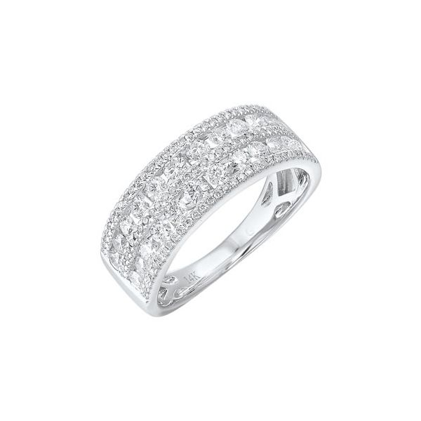 Glittering diamond band. Holliday Jewelry Klamath Falls, OR