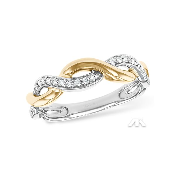 Twist Diamond Band Ring Holliday Jewelry Klamath Falls, OR