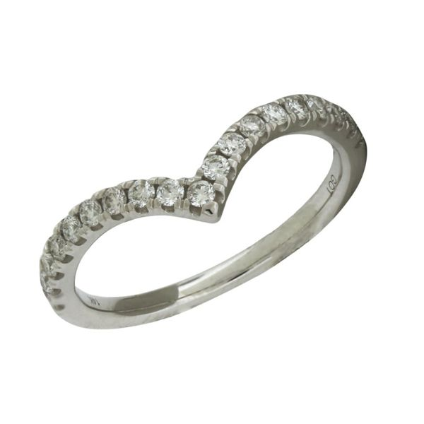 Diamond chevron band. Holliday Jewelry Klamath Falls, OR