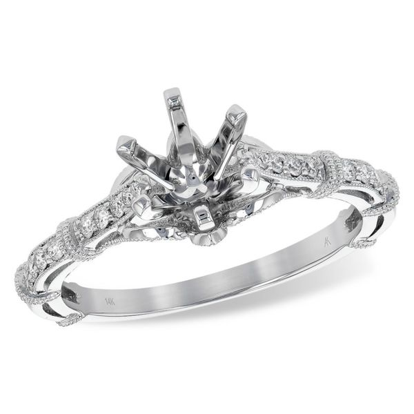 Allison Kaufman diamond ring. *center not included. Holliday Jewelry Klamath Falls, OR