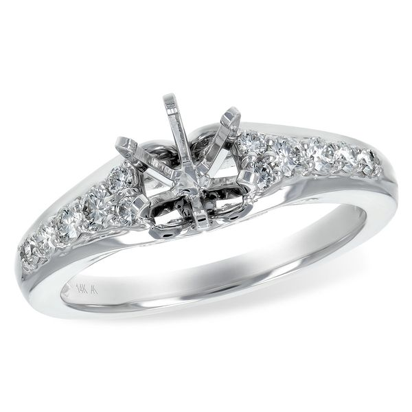 Allison Kaufman diamond engagement ring. *center not included. Holliday Jewelry Klamath Falls, OR
