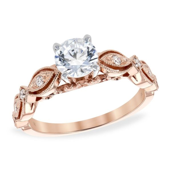 Allison Kaufman vintage inspired diamond ring. *center not included. Holliday Jewelry Klamath Falls, OR