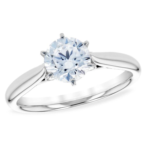Allison Kaufman solitaire diamond ring. *center not included Holliday Jewelry Klamath Falls, OR
