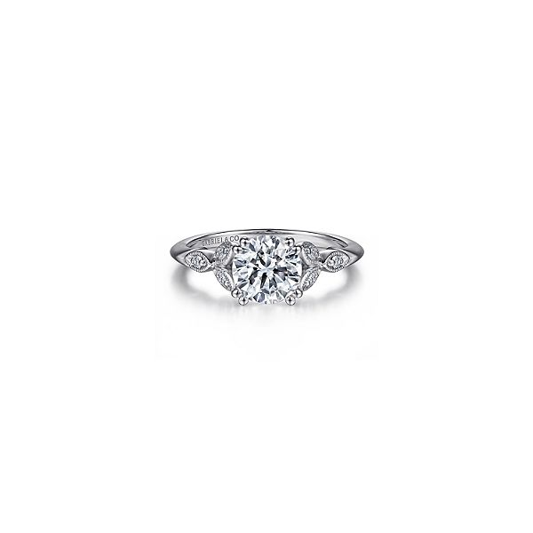Gabriel & Co. diamond engagemnet ring. * Center not included. Holliday Jewelry Klamath Falls, OR