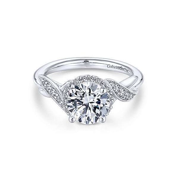 Gorgeous Gabriel & Co. diamond ring. *Center not included. Holliday Jewelry Klamath Falls, OR