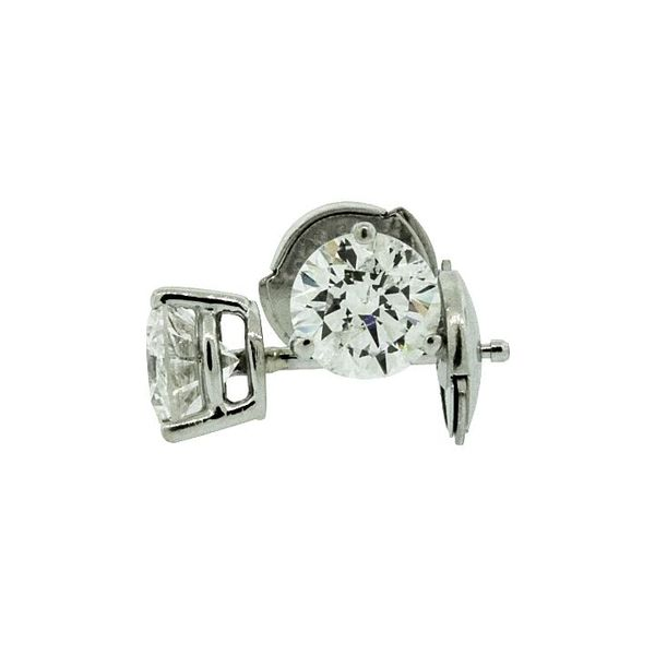 Solitaire Diamond Stud Earrings Holliday Jewelry Klamath Falls, OR
