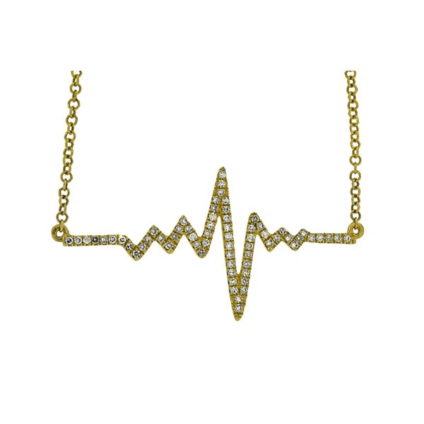 Heartbeat Pendant Holliday Jewelry Klamath Falls, OR
