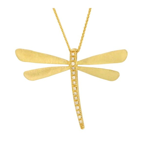 Cherie Dori dragonfly necklace. Holliday Jewelry Klamath Falls, OR