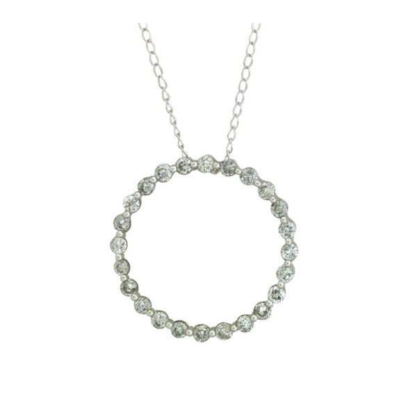 Diamond Circle Pendant Holliday Jewelry Klamath Falls, OR