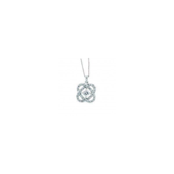 Loves Crossing diamond pendant. Holliday Jewelry Klamath Falls, OR