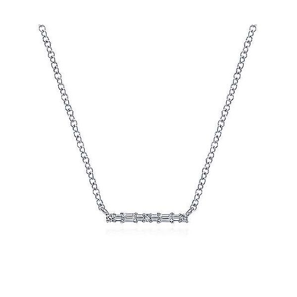 Dot-Dash necklace by Gabriel & Co. Holliday Jewelry Klamath Falls, OR