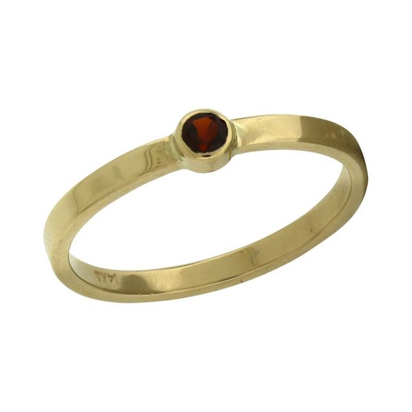 Garnet Ring Holliday Jewelry Klamath Falls, OR