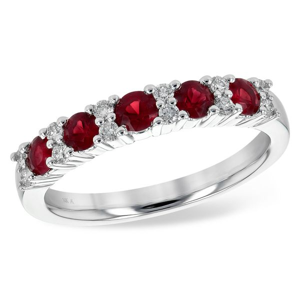 Allison Kaufman ruby and diamond ring. Holliday Jewelry Klamath Falls, OR