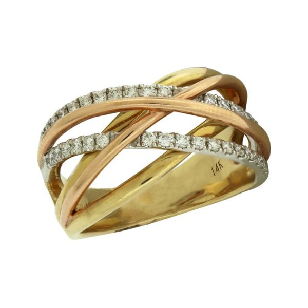 Tri-tone Diamond fashion ring Holliday Jewelry Klamath Falls, OR