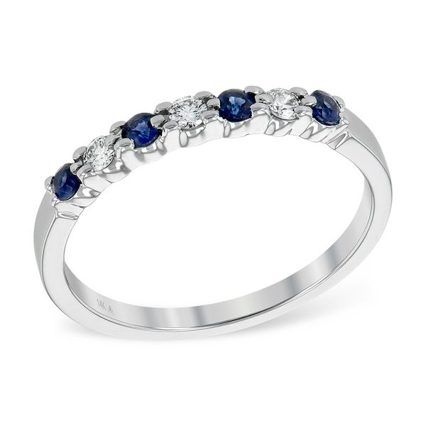 Allison Kaufman sapphire and diamond ring. Holliday Jewelry Klamath Falls, OR