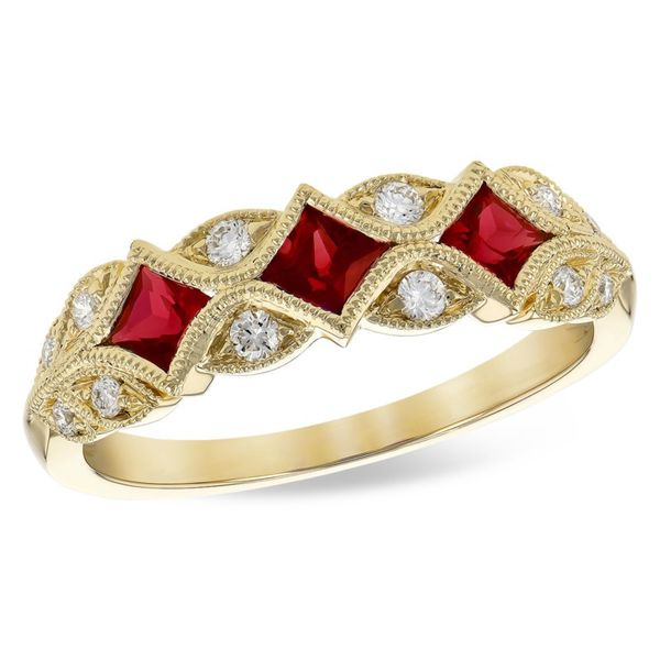 Allison Kaufman Ruby Fashion Ring Holliday Jewelry Klamath Falls, OR
