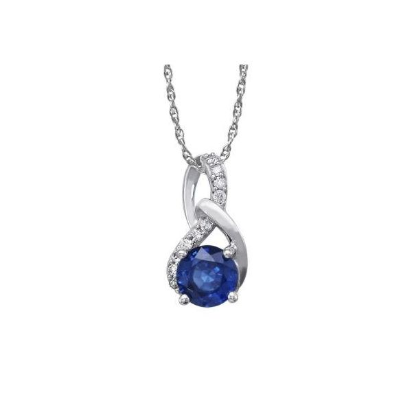Sapphire Pendant Holliday Jewelry Klamath Falls, OR
