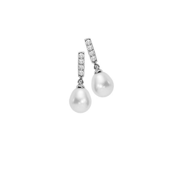 Sterling Silver Pearl Earrings Holliday Jewelry Klamath Falls, OR