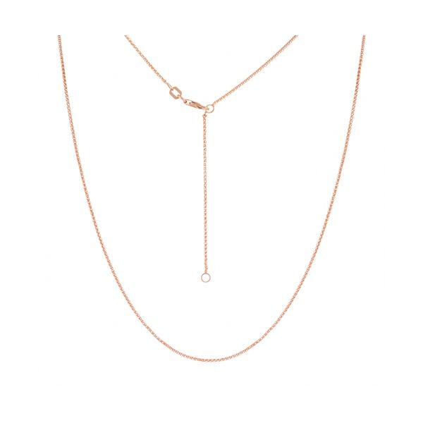 Rose gold wheat chain. Holliday Jewelry Klamath Falls, OR