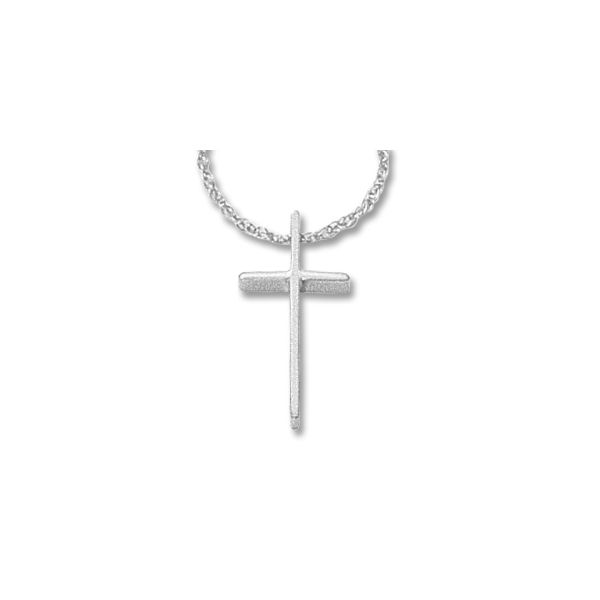 Gold cross pendant. Holliday Jewelry Klamath Falls, OR