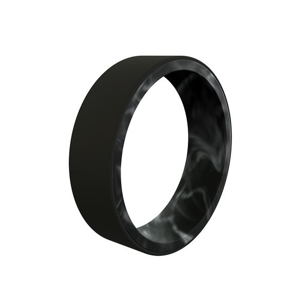 Men's Black Marble Band Holliday Jewelry Klamath Falls, OR