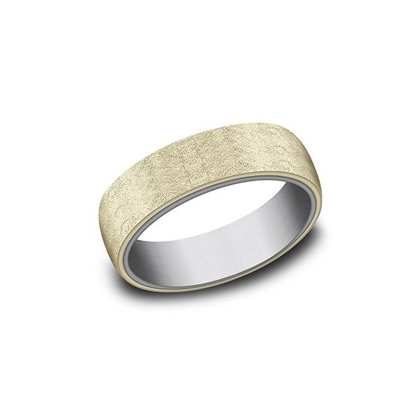 Amara stone swirl finish band. Holliday Jewelry Klamath Falls, OR