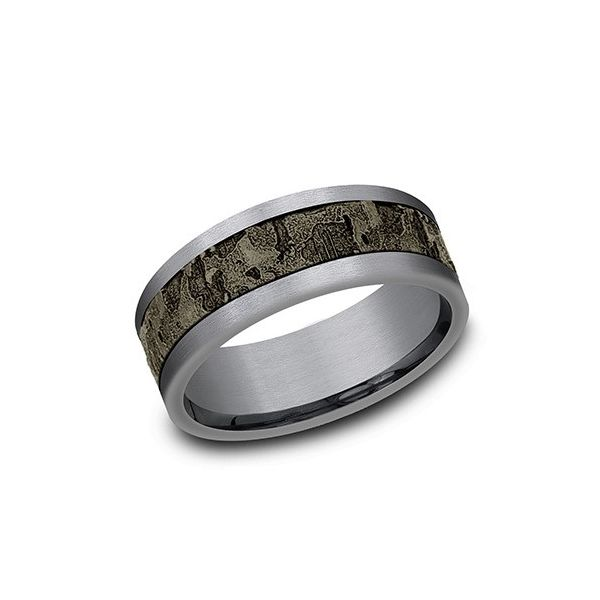 Tantalum fractured wall band. Holliday Jewelry Klamath Falls, OR