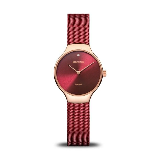 Bering Time Stainless steel Milanese strap ladies watch Holliday Jewelry Klamath Falls, OR