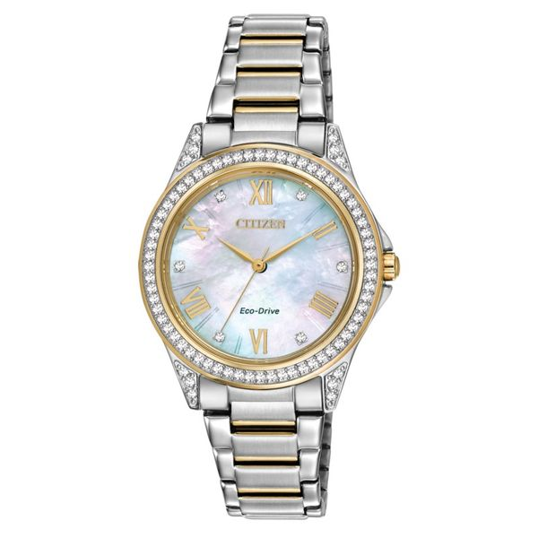 Citizen Eco-Drive with Swarovski Crystal. Holliday Jewelry Klamath Falls, OR