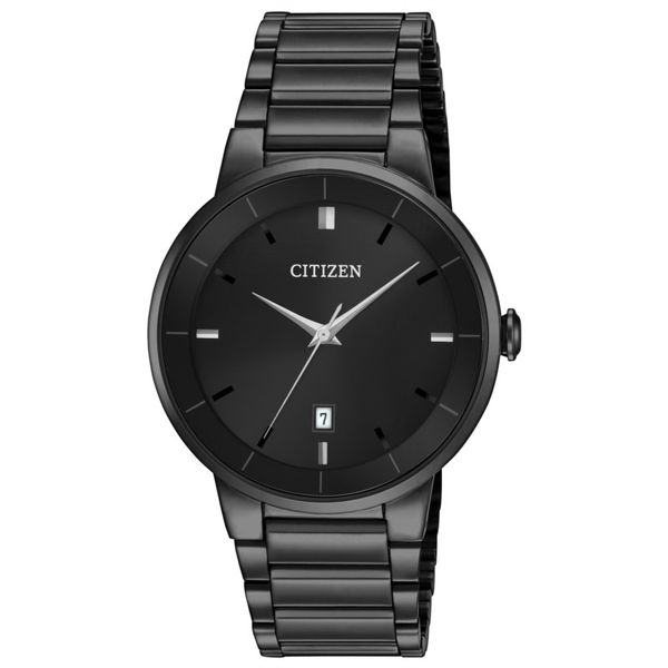 Quartz All Black Stainless Steel Watch Holliday Jewelry Klamath Falls, OR