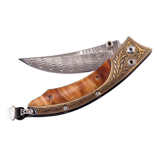William Henry Persian 'Glade' knife. Holliday Jewelry Klamath Falls, OR