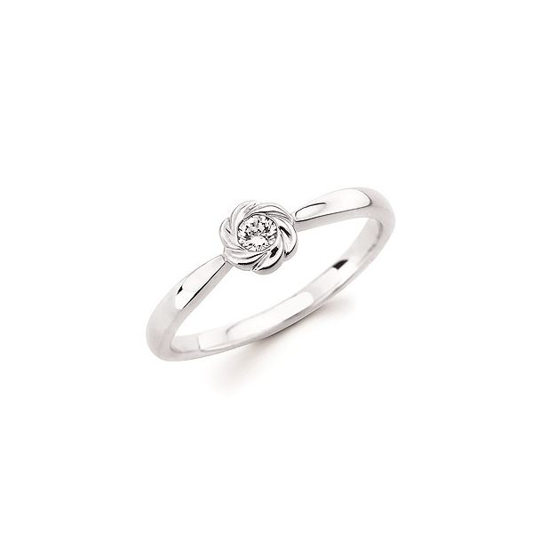 Sterling silver diamond ring. Holliday Jewelry Klamath Falls, OR