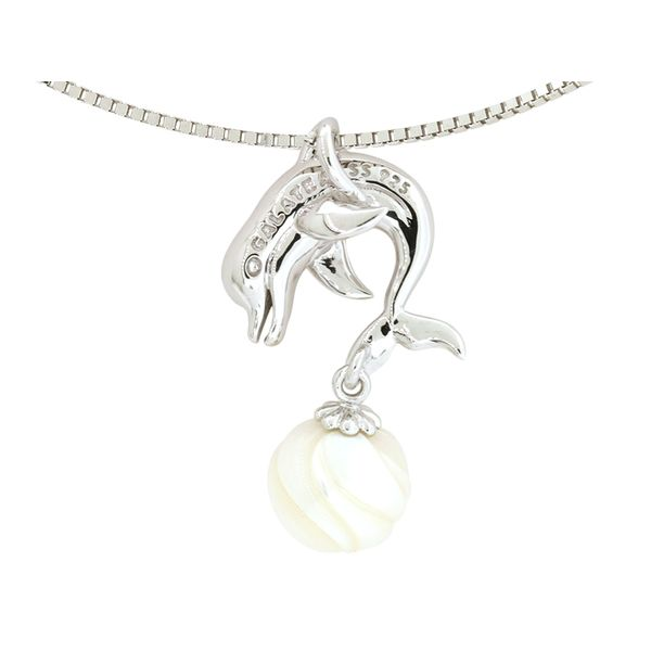 Pearl Dolphin Pendant Holliday Jewelry Klamath Falls, OR