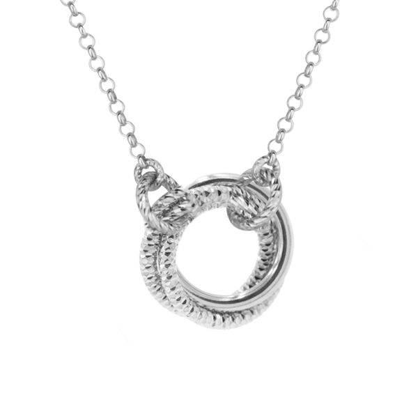 Frederic Duclos love knot necklace Holliday Jewelry Klamath Falls, OR