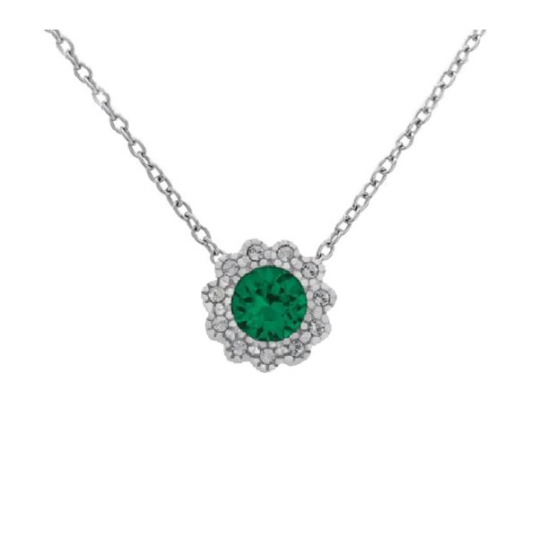 With You Locket, May birthstone pendant sold without chain Holliday Jewelry Klamath Falls, OR