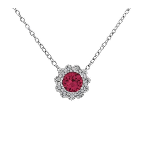 With You Locket, July birthstone pendant sold without chain Holliday Jewelry Klamath Falls, OR