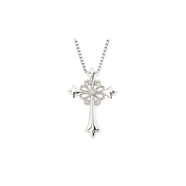 Diamond Cross Pendant Holliday Jewelry Klamath Falls, OR