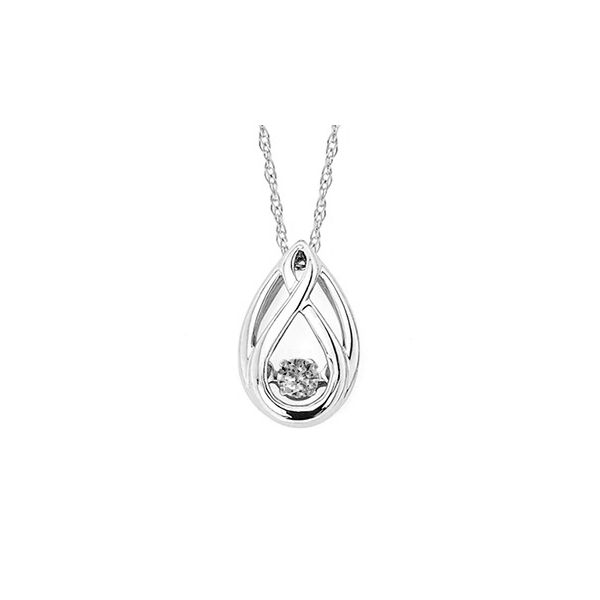 Sterling Silver Shimmering Diamond Pendant Holliday Jewelry Klamath Falls, OR