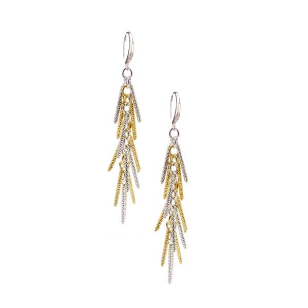 Frederic Duclos two tone drop earrings Holliday Jewelry Klamath Falls, OR