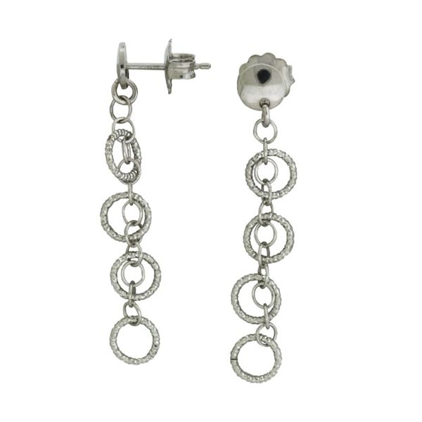 Frederic Duclos Imagination circles earrings. Holliday Jewelry Klamath Falls, OR