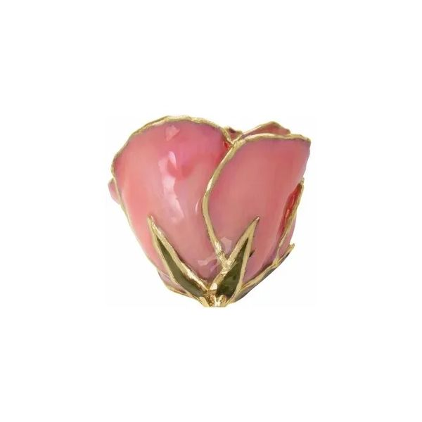 Pink pearl 24k lacquered rose. Holliday Jewelry Klamath Falls, OR