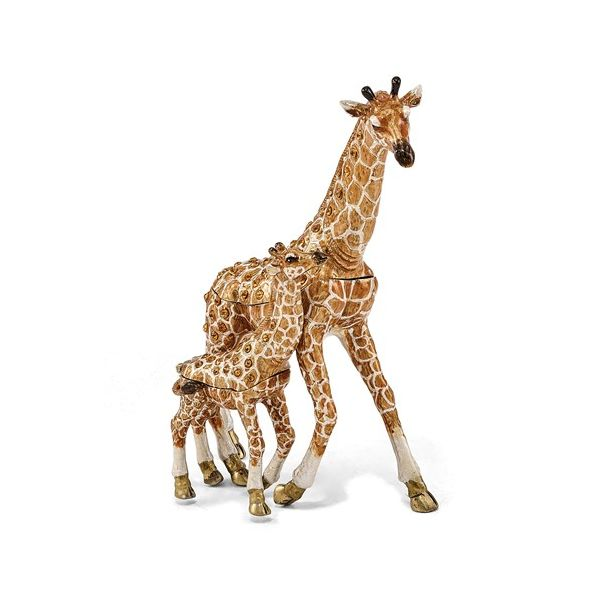 Mom & Baby Giraffe Trinket Box Holliday Jewelry Klamath Falls, OR