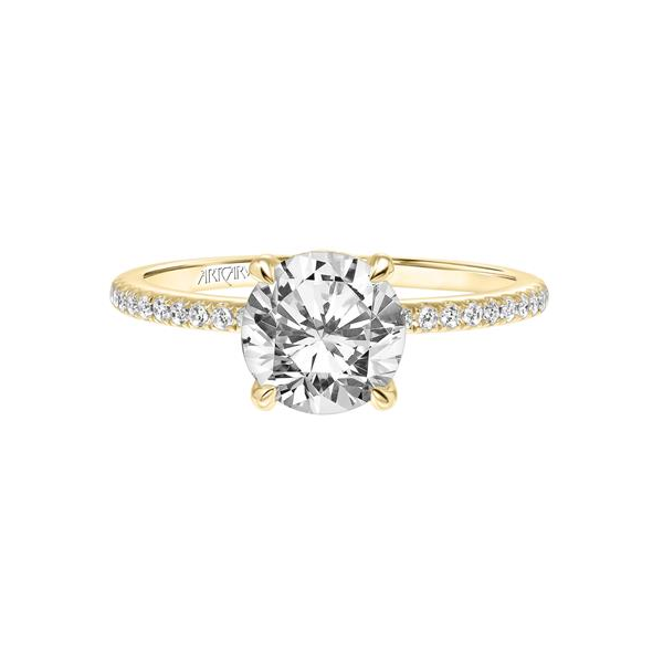 Chelsea Classic Side Stone Engagement Ring Image 3 Holtan's Jewelry Winona, MN