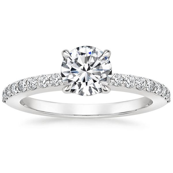 Engagement Ring with Diamond Center Included Holtan's Jewelry Winona, MN