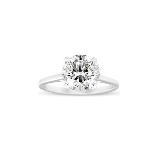 White Gold Solitaire Engagement Ring Holtan's Jewelry Winona, MN