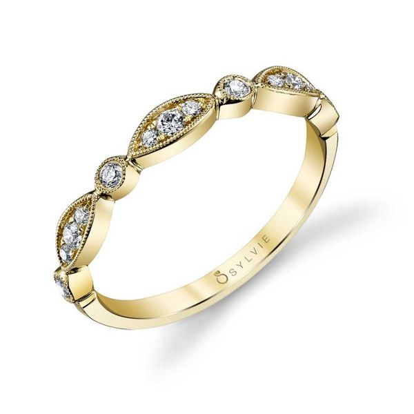 TALIA - VINTAGE INSPIRED STACKABLE WEDDING BAND Holtan's Jewelry Winona, MN
