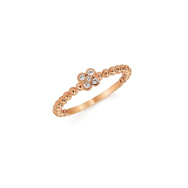 Rose Gold Diamond Fashion Ring Holtan's Jewelry Winona, MN