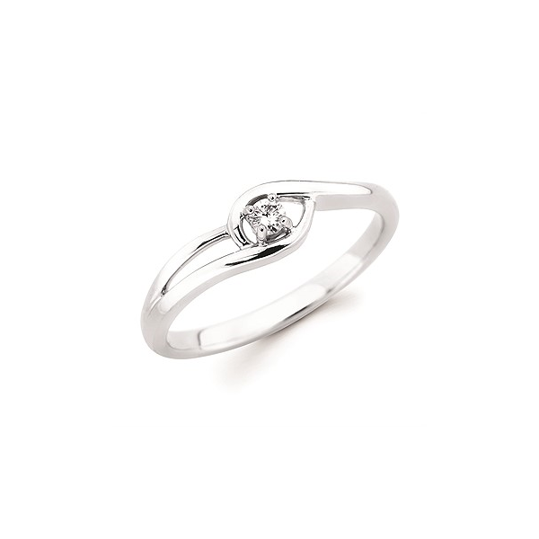 10kt White Gold Promise Ring Holtan's Jewelry Winona, MN