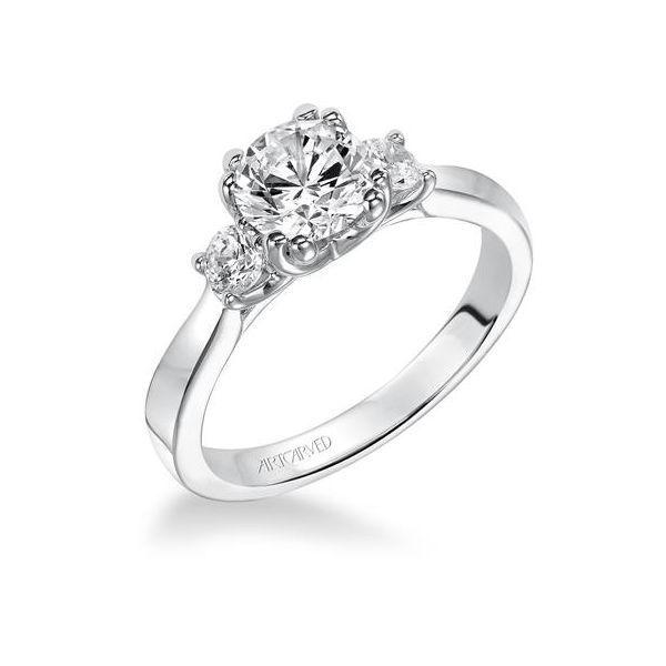 Three Stone Engagement Ring *SETTING ONLY* Holtan's Jewelry Winona, MN