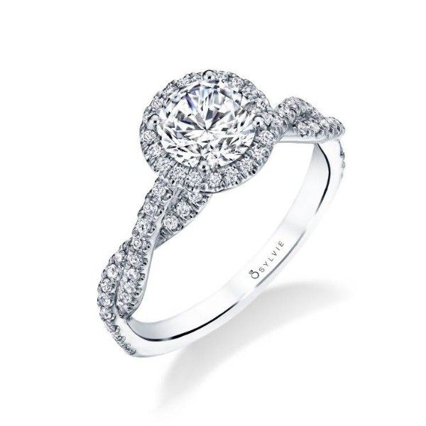 Halo Engagement Ring *SETTING ONLY* Holtan's Jewelry Winona, MN